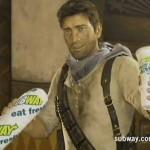 Subway'e Nathan Drake'li TV Reklamı