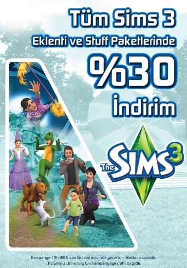 Sims3-23Nisan-Kampanyasi
